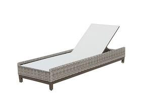 Nevis Chaise Lounge by Plank and Hide