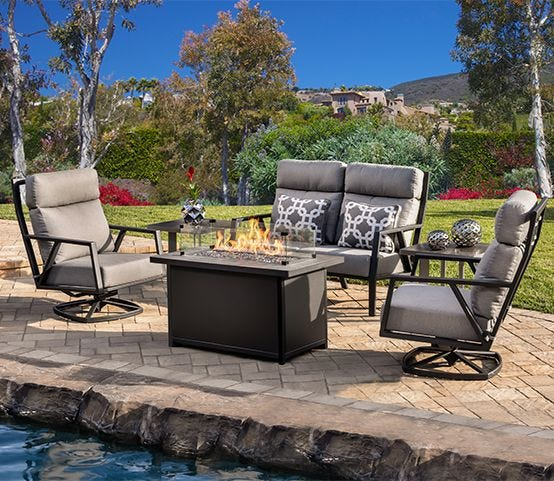 Patio furniture and landscaping ideas