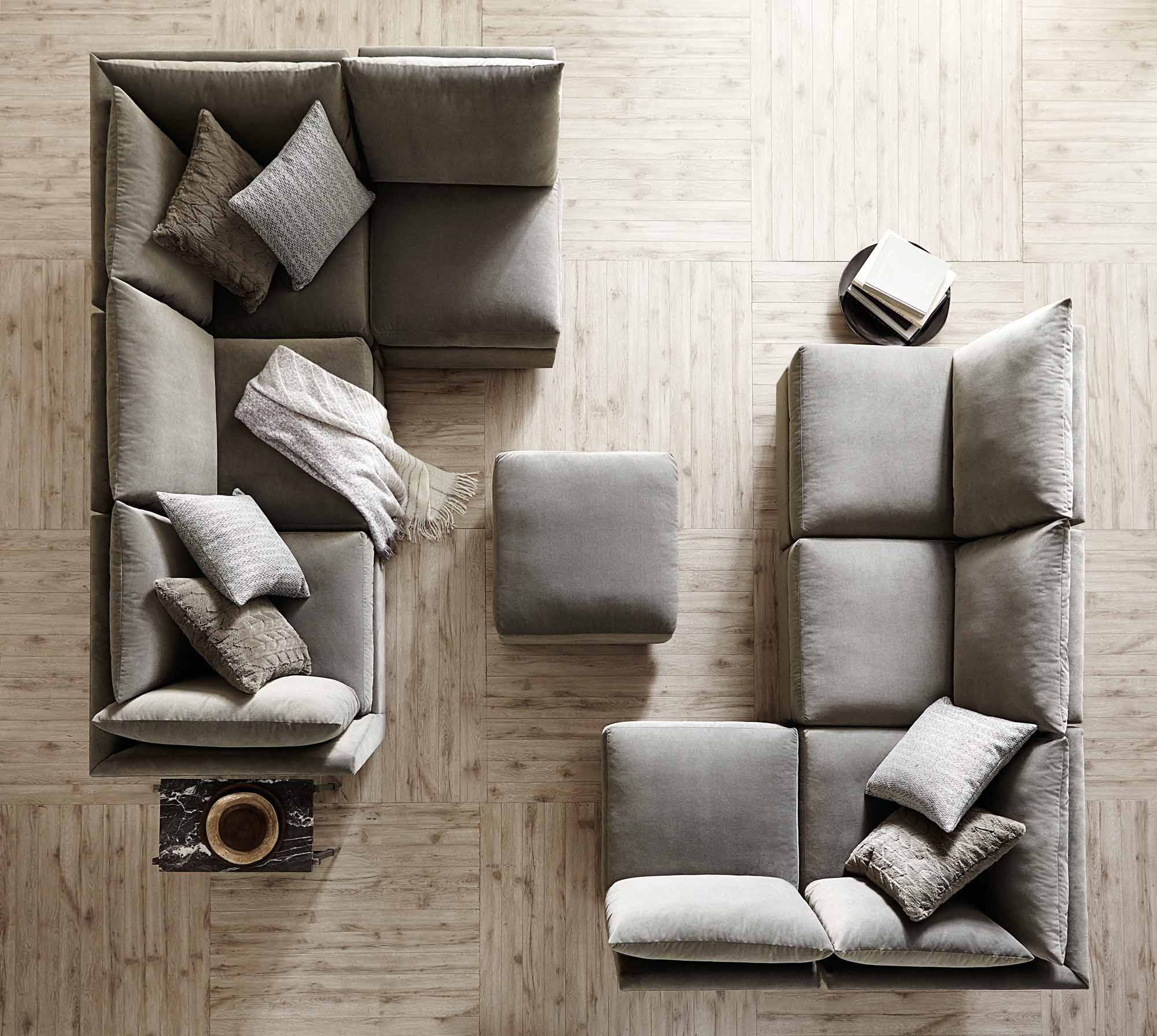 Plush the world's most comfortable sofa